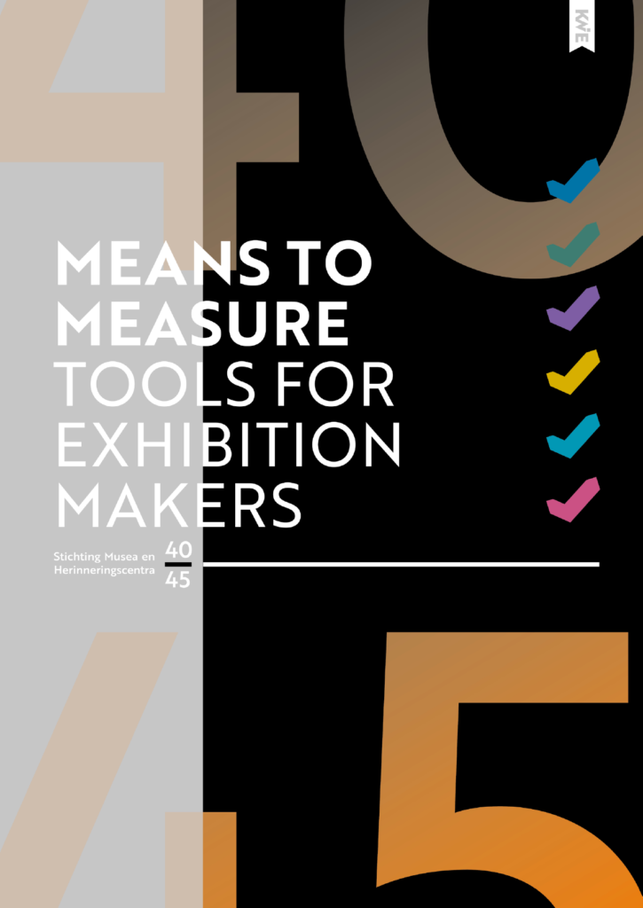 Means to measure, tools for exhibition makers
