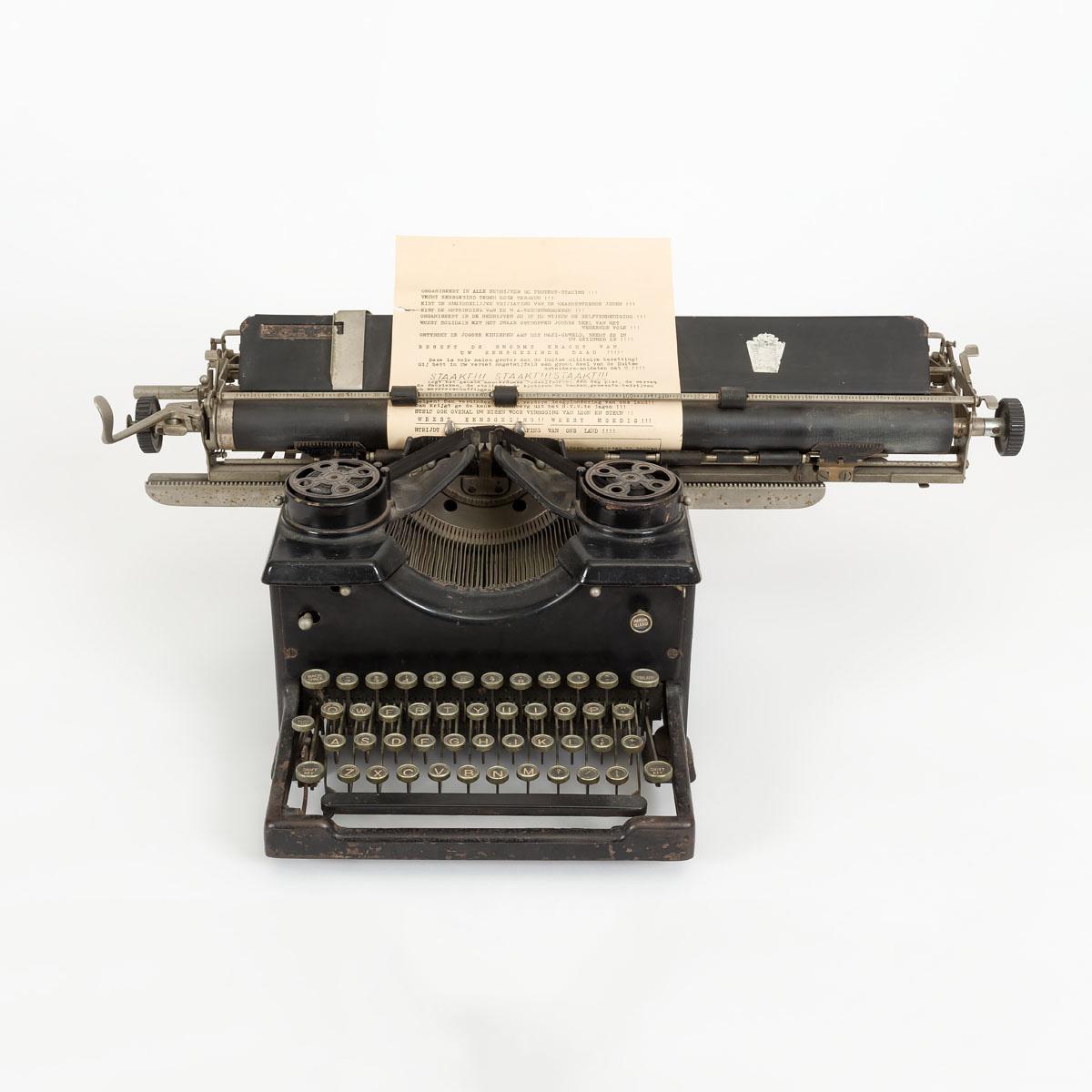 Schrijfmachine - Verzetsmuseum